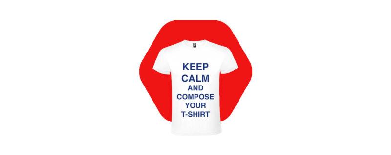 Magliette Keep Calm Personalizzate