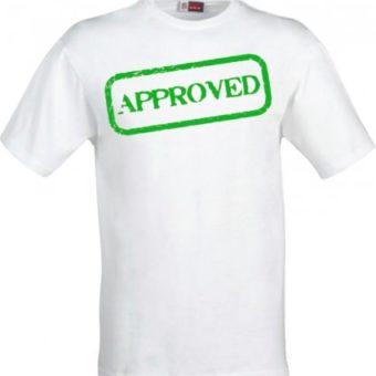 Maglietta Approvato