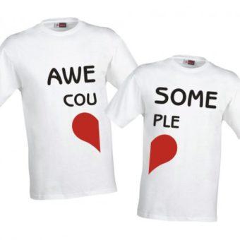 Magliette Coppia Amore