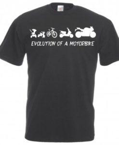 Maglietta Motocicletta Evoluzione