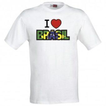 Maglietta Love Brasil