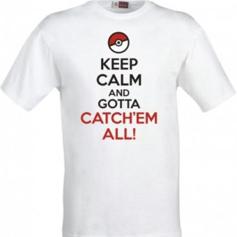 Maglietta Keep Calm Pokemon