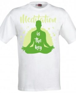 Maglietta Yoga Meditation is the Key