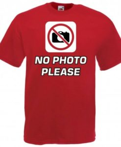 Maglietta No Foto