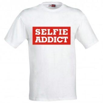 Maglietta Selfie Addict