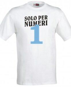 Maglietta Numeri Uno