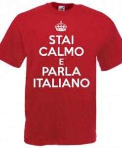 Maglietta Keep Calm divertente