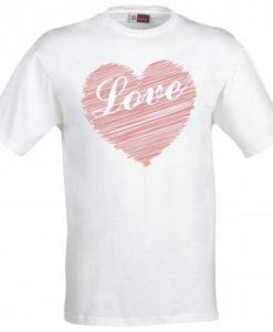 Maglietta Cuore Love