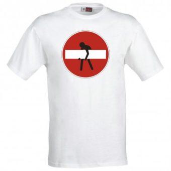 Maglietta Divieto d'Accesso