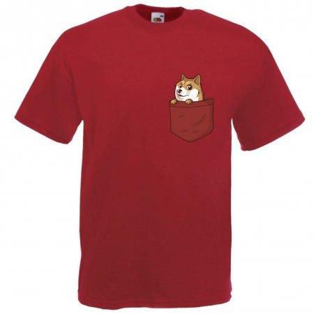 Maglietta Cane nel Taschino