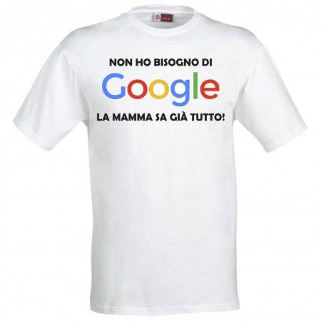 Maglietta Google Divertente