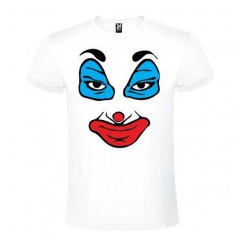 Maglietta Faccia Clown