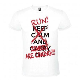 Maglietta Run Zombies are Coming