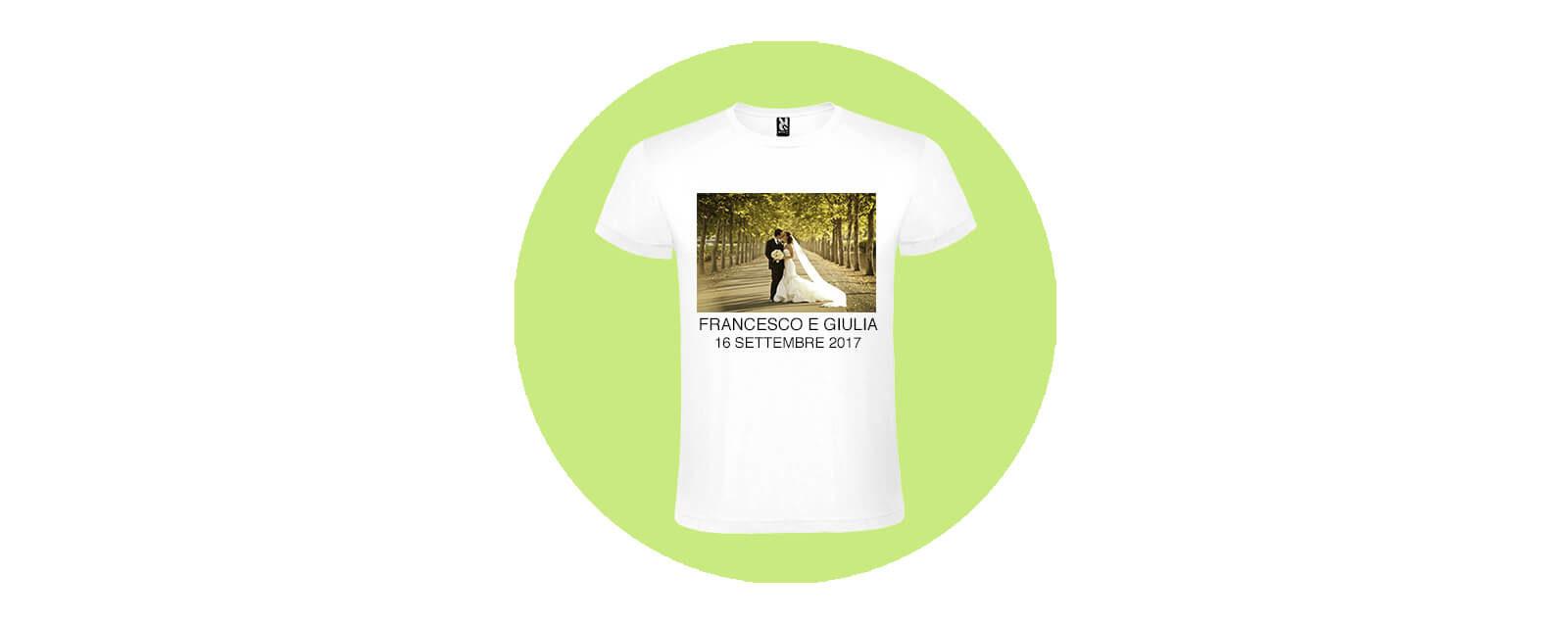 Maglietta Personalizzata Matrimonio