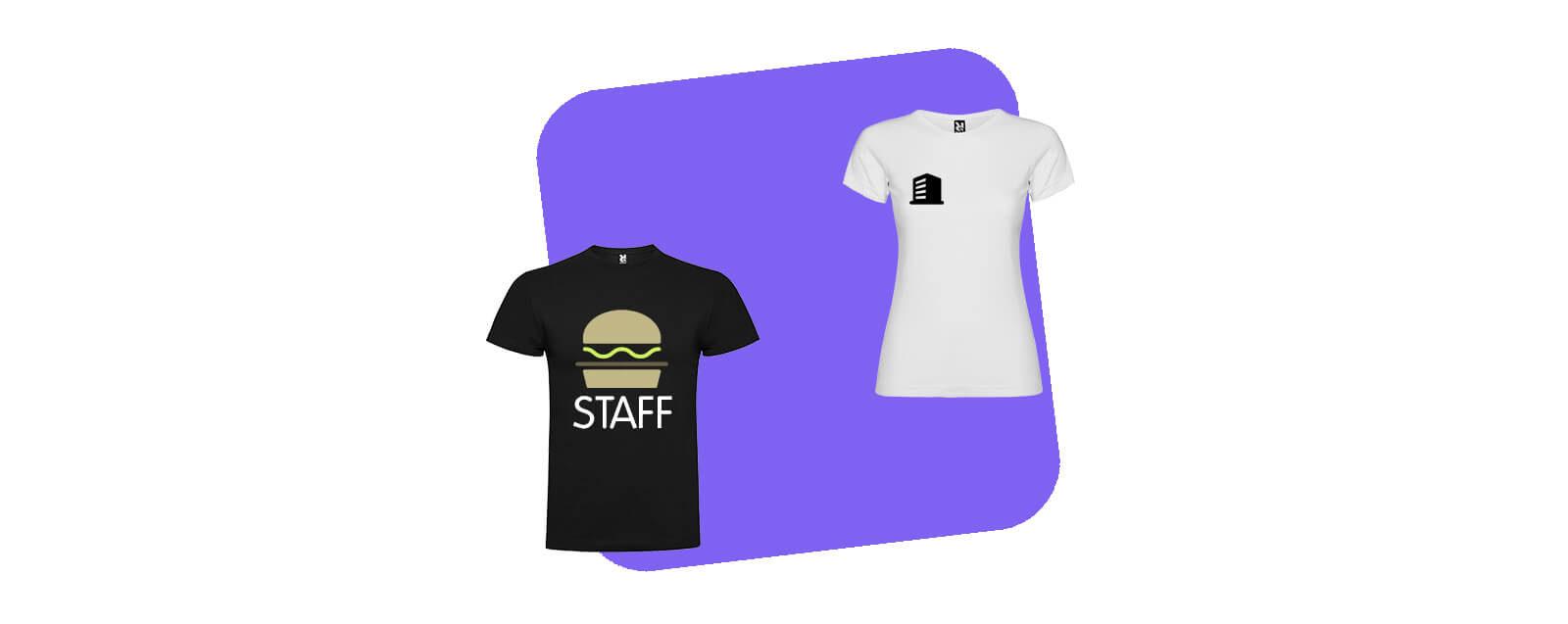 Maglietta personalizzata con logo