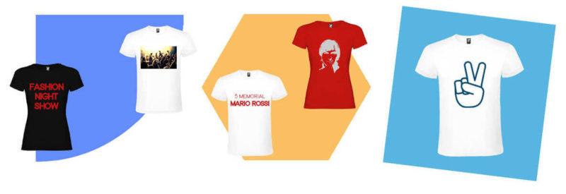 Crea magliette personalizzate online