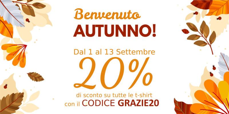 promozione magliette autunno