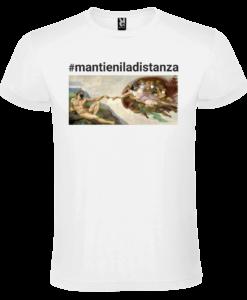 T-SHIRT BIANCA_mantieniladistanza